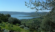 Sedilo, veduta panoramica lago Omodeo