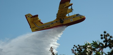 Canadair in azione 